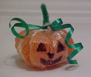 Orange Slice Candy Pumpkin