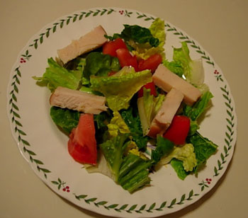 Julienne Chicken for Salads