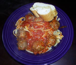 $10 Dinner - Spaghetti and Meatballs