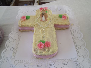 Girl's First Communion Cake