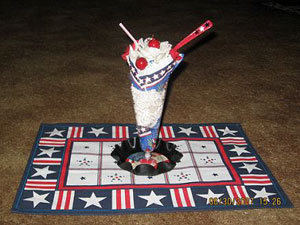 Patriotic Ice Cream Bouquet