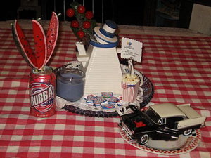 Bubba's Birthday Tablescape