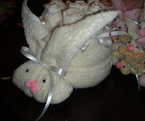 Boo Boo Bunnies As Shower Favors