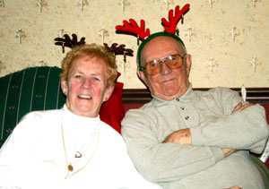 Grandmom And Grandpop Reindeer