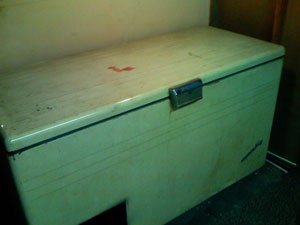 Antique Freezer