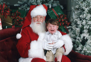 Crying Santa Picture