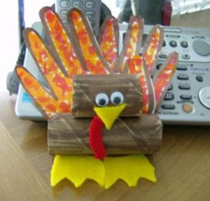 Craft: Turkey Napkin Holder