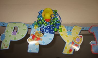 Rubber Duck Themed First Birthday