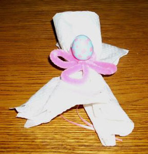 Easter Napkin Ties