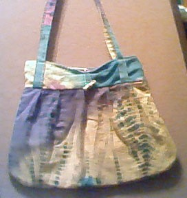 Easy Pleated Tote Bag