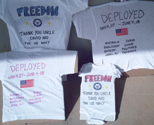 T-Shirts For Navy Homecoming