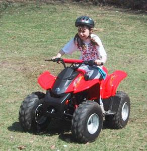 Amanda And Her New ATV