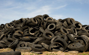 Getting Rid of Old Tires