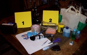 Homemade CSI Kit for that Aspiring CSI