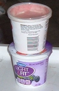 Save Your Pringles Lids For Covering Yogurt Containers