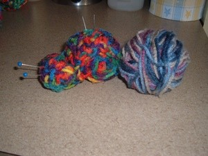 Crocheted Snail Pin Cushion