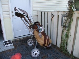 Golf Bag As A Tool Caddy