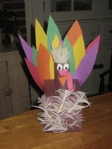 Tissue Box Turkey
