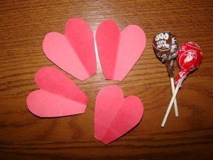 Craft Project: Heart Posies
