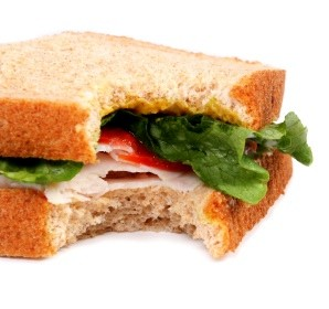 Not Your Usual Turkey Sandwich