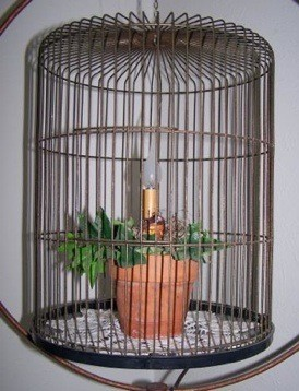 Craft Project: Bird Cage Night Light