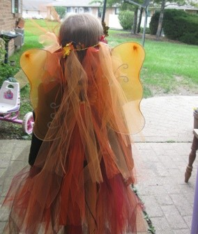 Halloween: Fall Fairy Costume
