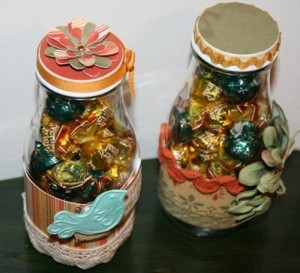 Craft Project: Recycled Gift Bottles