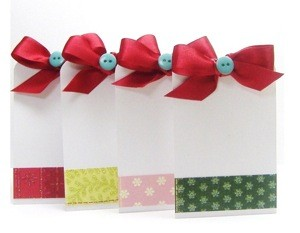 Craft Project: Pocket Gift Tags