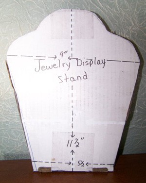 Craft Project: Jewelry Display Stand