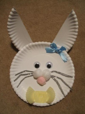 Craft Project: Paper Plate Bunny
