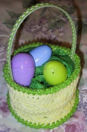 Craft Project: Crocheted Easter Basket