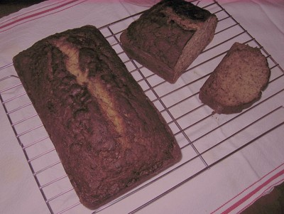 Marsha's Banana-Walnut Tea Bread