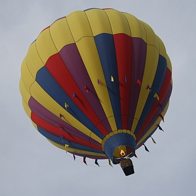 Scenery: Hot Air Balloon