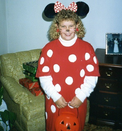 Halloween Costume: Minnie Mouse