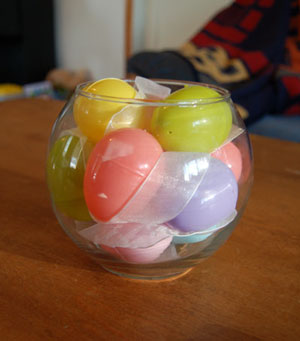 Frugal Easter Centerpiece