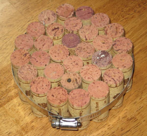 Trivet From Wine Corks