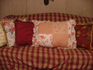 Reuse Pillow Shams On Your Sofa