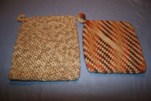 Single Crochet Potholder