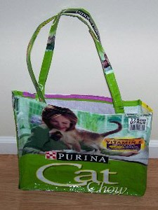 Craft: Recycled Pet Food Bag Tote