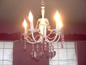 Craft: Crystal Chandelier