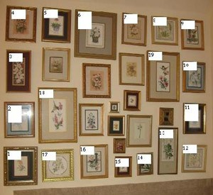 Arranging wall picture groupings thriftyfun - Arranging pictures on a wall ...