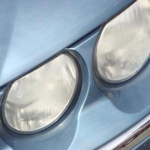 repairing cloudy headlight lens thriftyfun