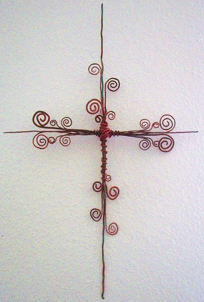 Copper Wire Cross Craft Ideas