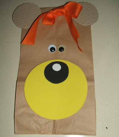 Craft Project: Bear Gift/Lunch Bag