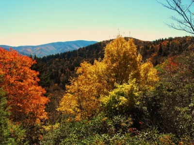 Scenery: Mt. Cammerer Fire Tower (Great Smoky Mountains National Park)