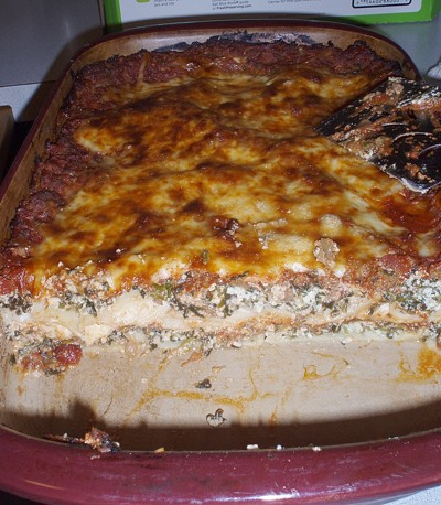 Lasagna recipes thriftyfun for Better homes and gardens lasagna