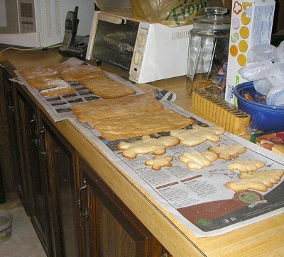 Photo: Making Christmas Cookies