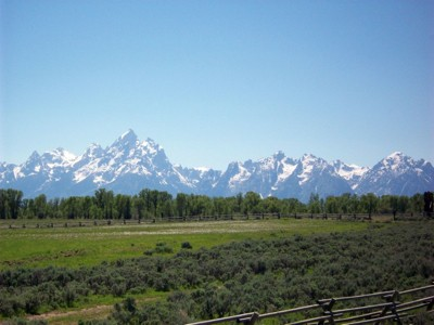 Scenery: Grand Tetons in Summer