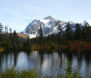 Scenery: Mt. Baker (Washington)