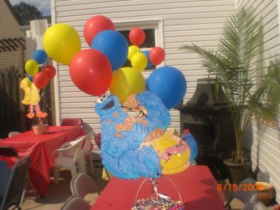 RE: Centerpiece Ideas for a Kids Birthday Party